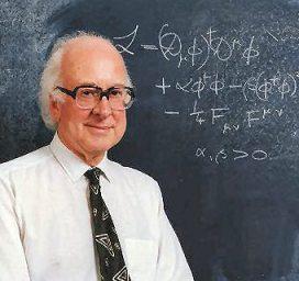 Peter Higgs, físico inglés que ideó el Bosón de Higgs